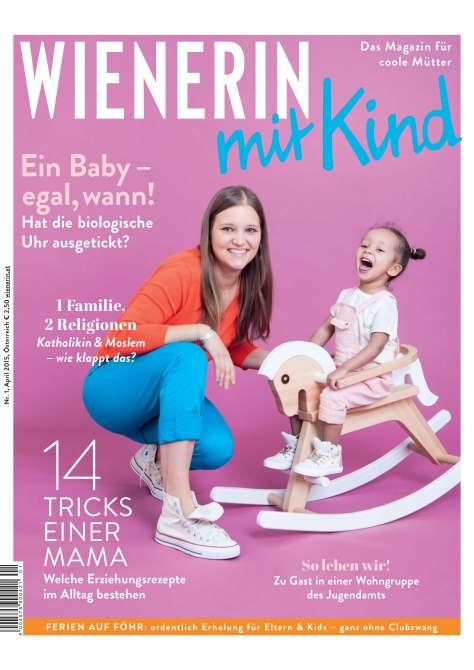 Cover Wienerin mit Kind (mit Beitrag von der Muttis Nähkästchen-Bloggerin)